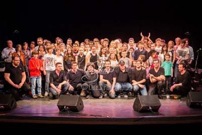 Album photo du Concert des groupes et éveil musical 2014