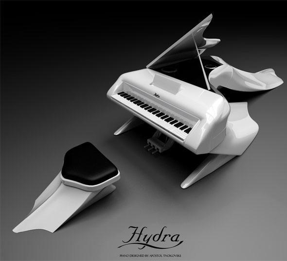 Piano Hydra - Vue de face