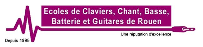 Ecoles de Claviers, Chant, Basse, Batterie et Guitares de Rouen